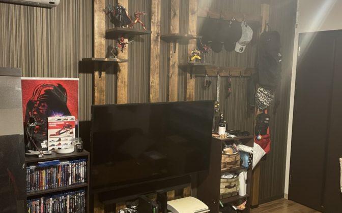 壁掛けテレビ 各種棚  作成