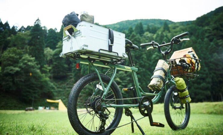 かわいいけどたくましい 積載性に優れた自転車「LOG WAGON」