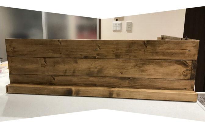 キッチン目隠しボード