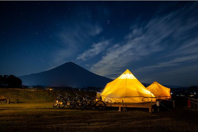富士山を独り占め、プライベートグランピング「MT. FUJI SATOYAMA VACATION」富士宮にオープン