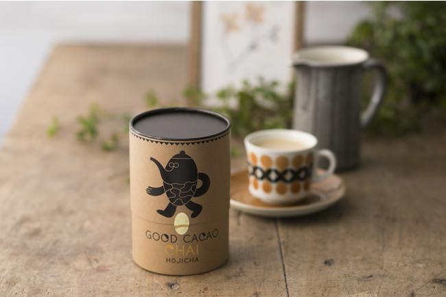香りに癒される、有機ほうじ茶をベースにしたアップサイクル チャイ