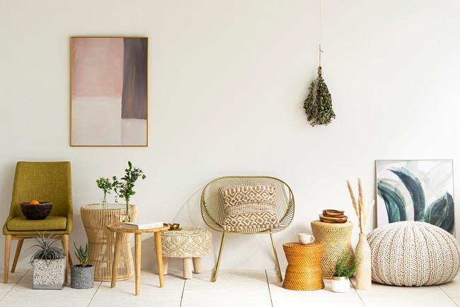 シンプルなDIYルームにあわせたい、ボヘミアンテイストの新しい家具ブランド