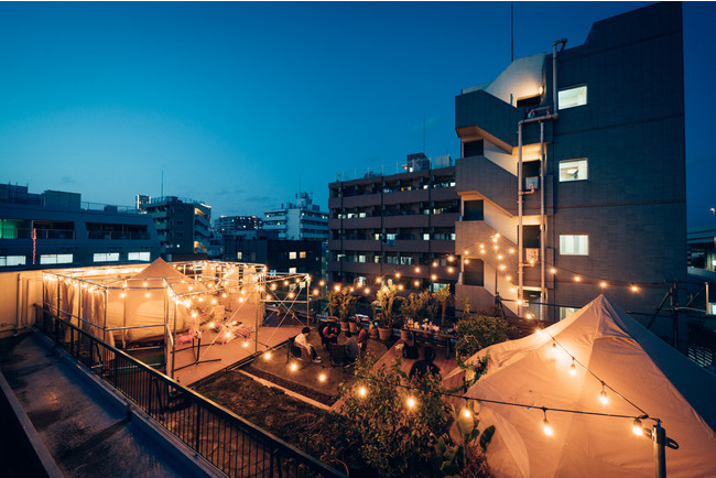 新しい横浜スタイル。宿泊できるグランピング施設が中華街の徒歩圏内にオープン