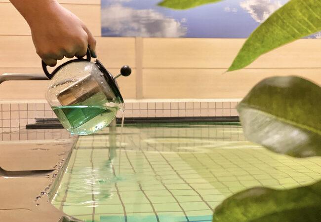 ハーブティーに蒸される・浸かる・癒される、入浴体験イベント開催中!