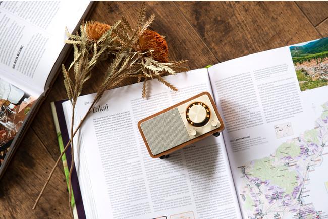 パワフルなサウンド、FMラジオ対応の小型Bluetoothスピーカー