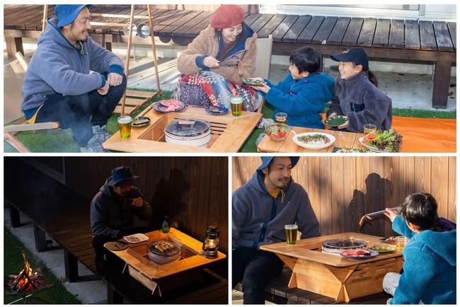 大切な人と囲って食べるひととき、蓋付きタイプの七輪囲炉裏が新登場