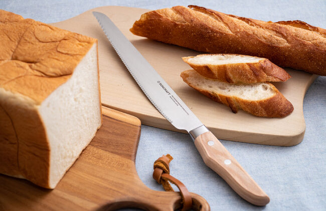 10%のパン好き必見!人気のパン切りナイフに左利き用が登場