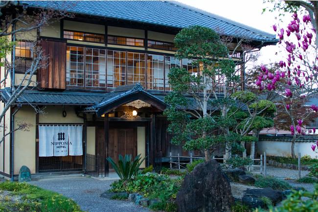 格式高い佇まい、歴史ある国登録有形文化財の宿泊施設がオープン