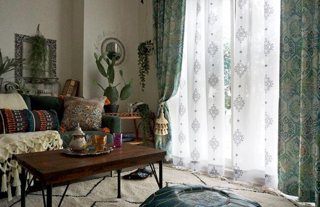 お部屋が華やか、ワンランク上のアートカーテン