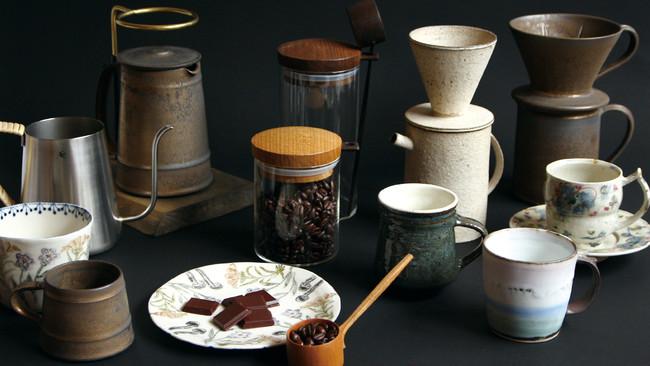 コーヒーの味はカップで決まる!?日本のクリエイターが生み出す多彩なコーヒーアイテム
