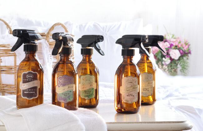 みずみずしく清潔な香り、SABONのファブリックミストが新発売
