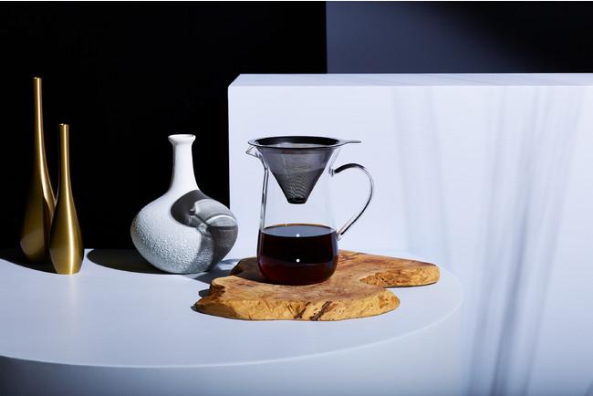 ドリップの新時代!?ペーパーフィルター不要で飲める新鮮コーヒー